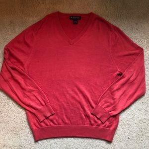 Red 70% silk Brooks Brothers sweater